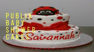 publix baby shower cakes youtube