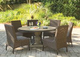 Agio 7 Piece Patio Dining Set - corsica outdoor 5 piece dining set morris home outdoor dining sets