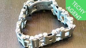 thread bracelet multi tool images Leatherman tread multi tool band hands on review jpg