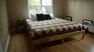 Bed Frames How To Make by How To Make A Mid Century Bed Frame Home Improvement Projects To