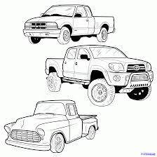 monster trucks drawings simple monster truck drawing