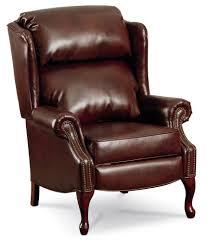 Lane Furniture Reclining Sofa by Savannah High Leg Recliner With Nailhead Trim By Lane Home