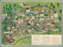 Zoo Map San Diego Zoo David Rumsey Historical Map Collection