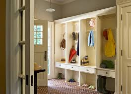 storage and organization mudroom mudroom idea in white with bench storage and cabinet