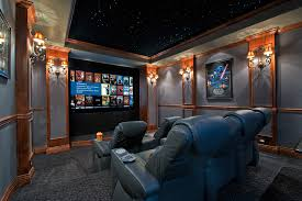 Home Theatre Sconces Home Theatre Ideas Home Theater Traditional With Home Cinema Home