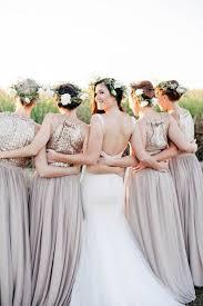 metallic gold bridesmaid dresses dreamy south orchard wedding metallic wedding and gold