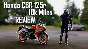 honda cbr 125 2016 price honda cbr 125r 2017 10k miles review youtube