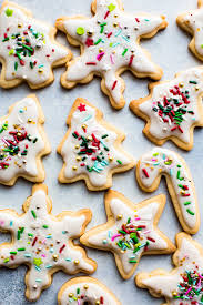 holiday cut out sugar cookies with easy icing recipe christmas