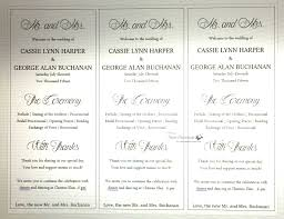 How To Print Wedding Programs Simply Southern Sandee A Sparkly Wedding Program Diy
