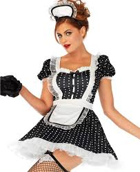 new leg avenue 86668 frisky frenchie maid halloween costume ebay