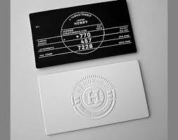 ideas for embossed business cards from handmade to foil printing
