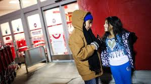 black friday target line crossroads shoppers begin black friday strategy hours earlier w