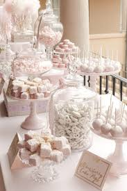 Pictures Of Buffet Tables by Best 25 Sweet Tables Ideas On Pinterest Cupcake Party Wedding
