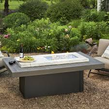 Firepit Tables The Outdoor Greatroom Company Boardwalk Propane Pit Table