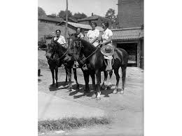 horse riding librarians were the great depression u0027s bookmobiles