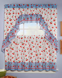 Kitchen Valances And Tiers by Jubilee Curtain Set Multi Achim Complete Kitchen Sets