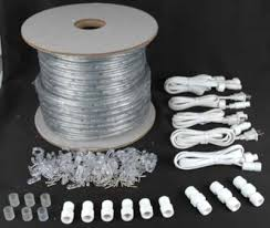 and green 150 chasing rope light spools 3 wire 120 volt