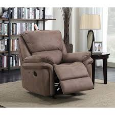 abbyson living bradford faux leather reclining sofa recliner chairs rockers lounges sam s club