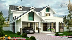 House Dormer Modern Sloping Roof House With Dormer Windows Kerala Home Design
