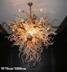 Murano Blown Glass Chandelier 2017 110v 220v Led Lamp Ce Ul Certificate Chihuly Borosilicate