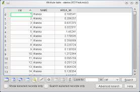 Alaska Records Search 3 ベクタデータの操作方法