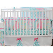 Childrens Bedroom Bedding Sets Bedroom Design White Dots Crib Bumper Design Soft Color Baby Crib
