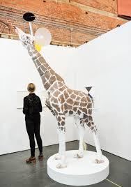 Giraffe Floor L Galerie Hugues Charbonneau Trevor Gould