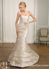 candlelight wedding dresses trumpet silhouette