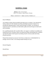 Please Find Attached My Resume Sherdil Khan Cv And Cover Letter