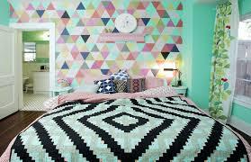 papier peint chambre fille ado tapisserie chambre fille ado chambre ado fille vintage couleurs