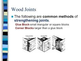 wood joints glues and clamping pages and joint handouts ppt