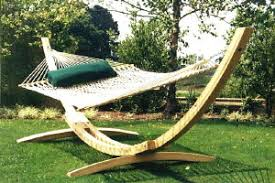 support for hammocks above ground