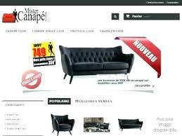 site vente canapé vente de canape en ligne canapac samba relax vente canape en ligne