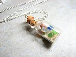 bottle necklace images Beach in a bottle necklace bits off the beach JPG