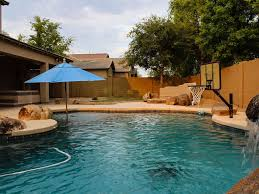Deep Backyard Pool by Resort Style 4 Bedroom 2 1 2 Bath Homeaway Shamrock Estates