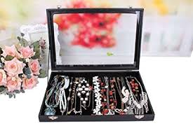 jewelry box 20 wuligirl 20 hooks necklace tray storage box jewelry