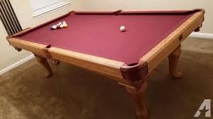 pool table felt for sale kasson sleight pool table maroon felt for sale in jacksonville
