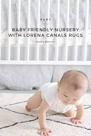 Machine Washable Rugs Baby Friendly Nursery With Lorena Canals Rug Mommy Diary