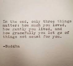 apparently this is not a quote by the buddha but none the less
