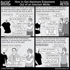 How To Meme - how to get maximum enjoyment out of an internet meme basic