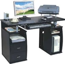 Black Computer Desk Computer Desks Stationeryinfo Com