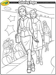 fashion model coloring pages fashion model 3 crayola ca