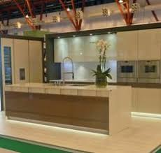 Ex Display Designer Kitchens For Sale by Ex Display Nolte High Gloss Metallic Kubanit Kitchen Alverstone