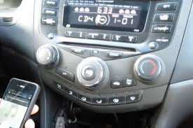 How To Put An Aux Port In Your Car Bluetooth And Iphone Ipod Aux Kits For Honda Accord 2003 2007
