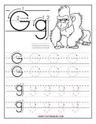 printable letter tracing worksheets printable letter g tracing worksheets for preschool printable