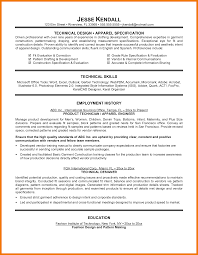 technical experience resume sample 5 tech resume samples mbta online