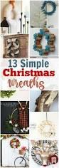 Reath Design 13 Simple Christams Wreaths Title Jpg