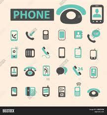 phone icon communication concept vector u0026 photo bigstock