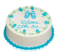 baby shower cakes for cake gallery baskin robbins
