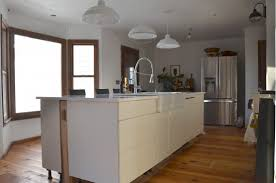how much overhang for kitchen island how to a kitchen island waterfall edge
